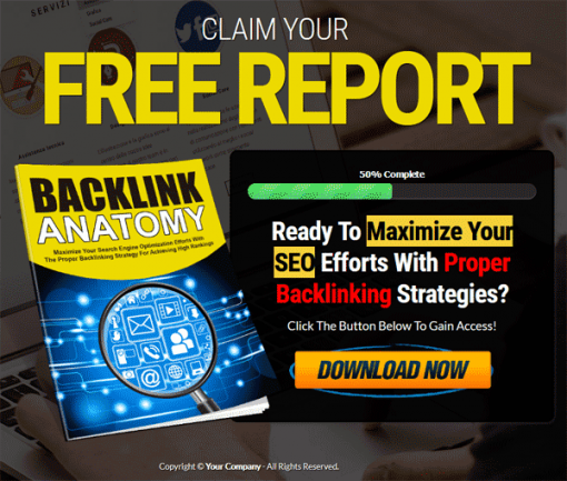 Backlink Anatomy Lead Generation Report MRR