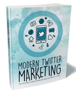 Modern Twitter Marketing Ebook and Videos MRR
