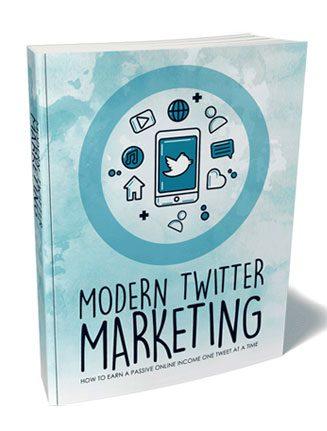 Modern Twitter Marketing Ebook and Videos MRR
