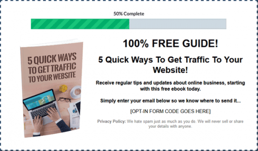 Boost Website Traffic Ebook MRR Package