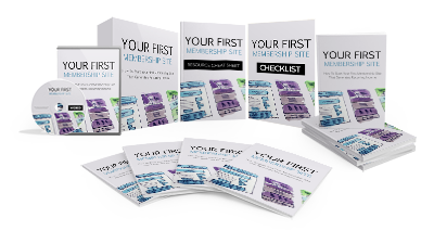 Your First Membership Site Ebook and Videos MRR
