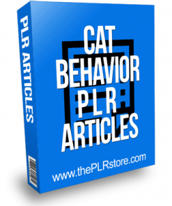Cat Behavior PLR Articles