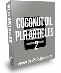 Coconut Oil PLR Articles 2