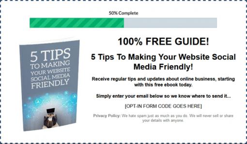 Social Media Marketing Plan Ebook MRR