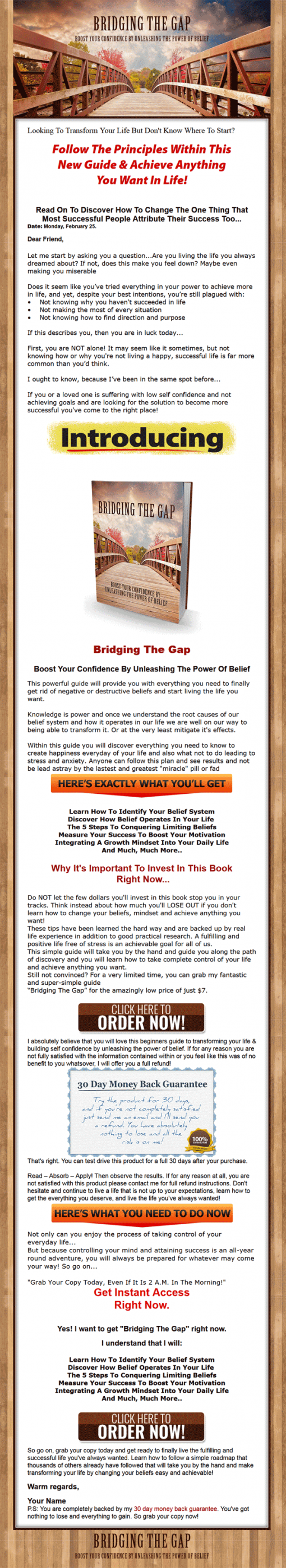 Boost Your Self Confidence Ebook and Videos MRR