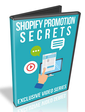 Shopify Promotion Secrets PLR Videos