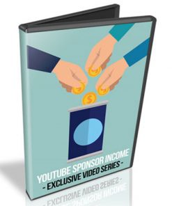 Youtube Sponsor Income PLR Videos