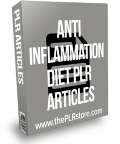 Anti Inflammation Diet PLR Articles