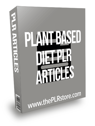 Plant Based Diet PLR Articles