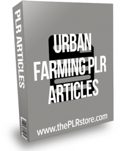 Urban Farming PLR Articles