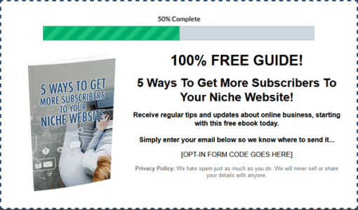 Lead Generation On Demand Ebook with Master Resale Rights