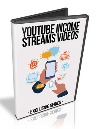 Youtube Income Streams PLR Videos with Private Label Rights