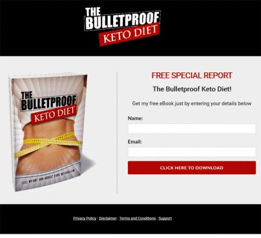 Bulletproof Keto Diet Ebook and Videos MRR