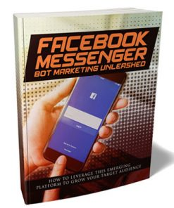 Facebook Messenger Bot Marketing Ebook and Videos MRR
