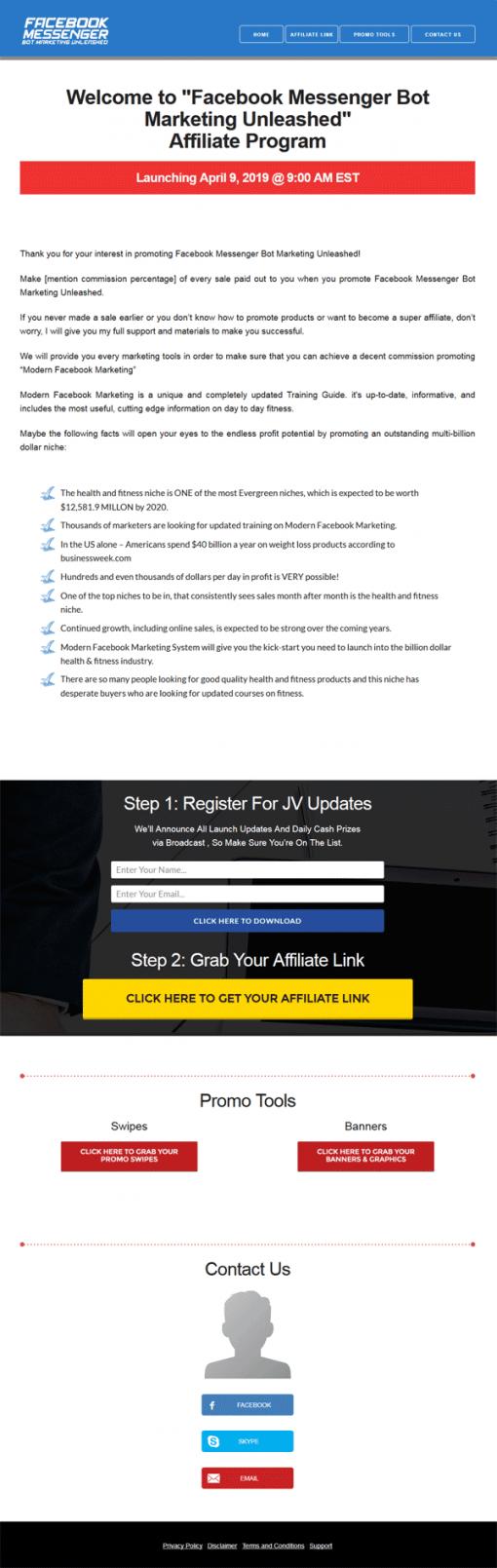 Facebook Messenger Bot Marketing Ebook and Videos MRR