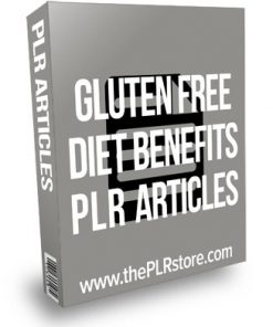 Gluten Free Diet Benefits PLR Articles