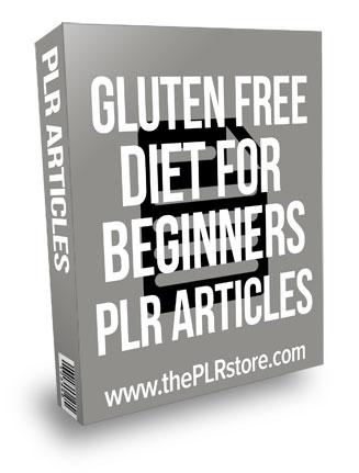 Gluten Free Diet For Beginners PLR Articles