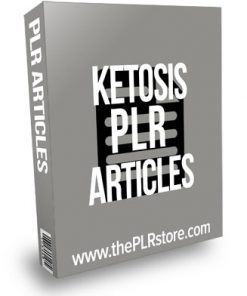 Ketosis PLR Articles with Private Label Rights