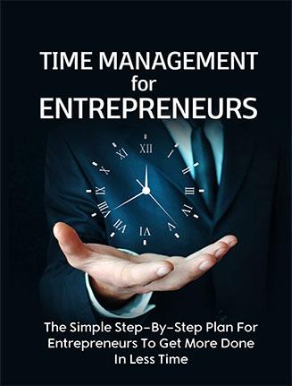 Time Management Entrepreneurs Ebook and Videos MRR
