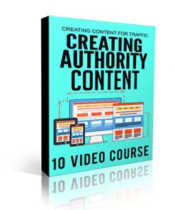 Creating Authority Content Videos MRR