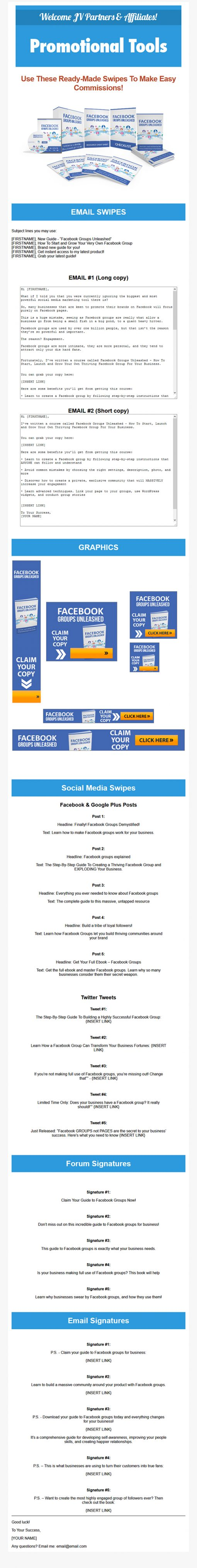 Facebook Groups Unleashed Ebook and Videos MRR