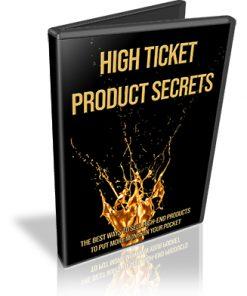 High Ticket Product Secrets PLR Videos