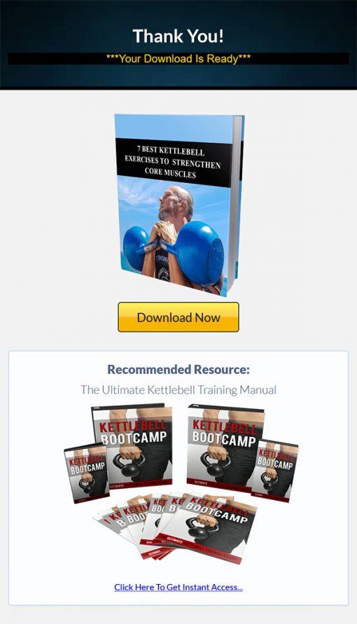Kettlebell Bootcamp Ebook and Videos MRR