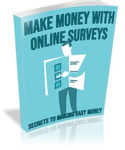Make Money With Online Surveys PLR Videos