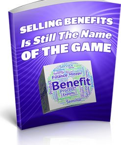 Selling Benefits Ebook MRR