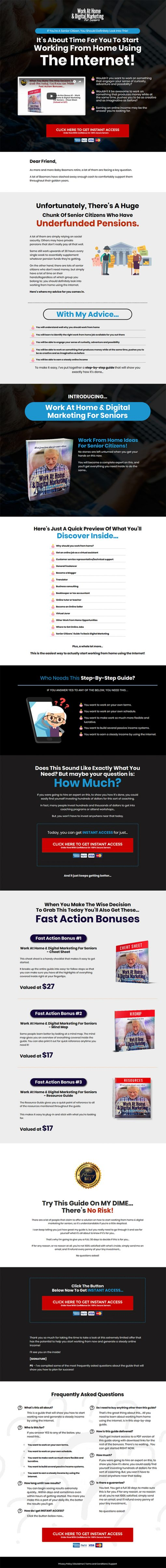 Work From Home Digital Marketing Ebook and Videos MRR