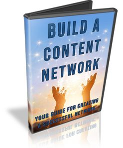 Build a Content Network PLR Audio