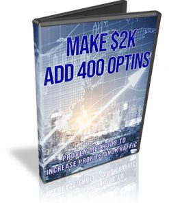 Make 2K Add 400 Optins PLR Videos