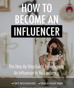 How to Become an Influencer Ebook and Videos MRR