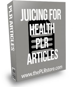 Juicing for Health PLR Articles