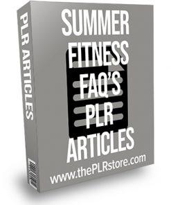 Summer Fitness FAQs PLR Articles