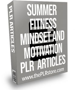 Summer Fitness Mindset and Motivation PLR Articles