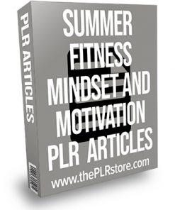 Summer Fitness Mindset and Motivation PLR Articles
