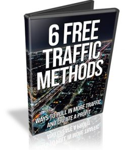 6 Free Traffic Methods PLR Videos