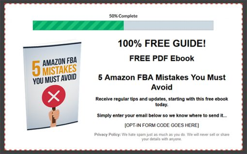 Amazon FBA Success Ebook and Videos with Master Resale Rights