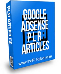 google adsense plr articles