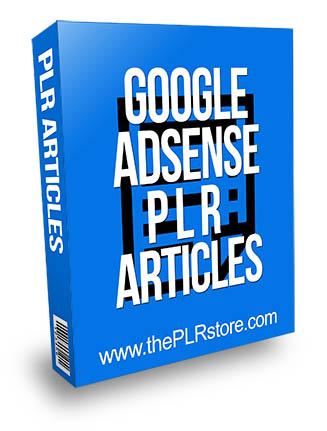 google adsense plr articles