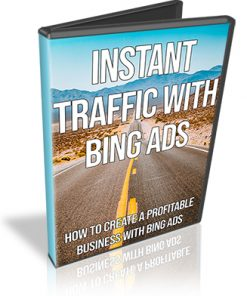 Instant Traffic for Pennies with Bing Ads PLR Videos