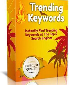 Wordpress Trending Keywords Plugin PLR