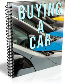 Buying a Car PLR Report