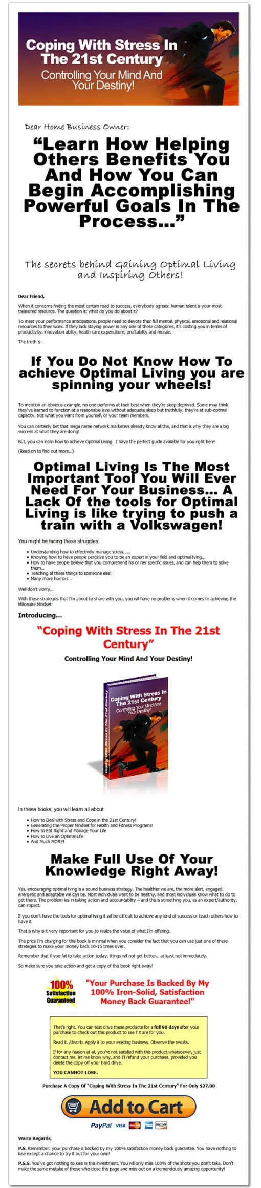 Coping with Stress Ebook and Videos MRR