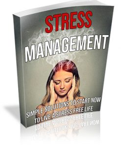 Stress Management PLR Ebook