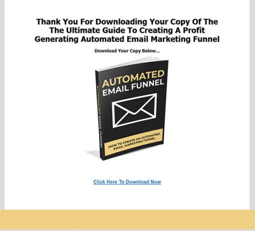 Automated Email Funnel Report MRR