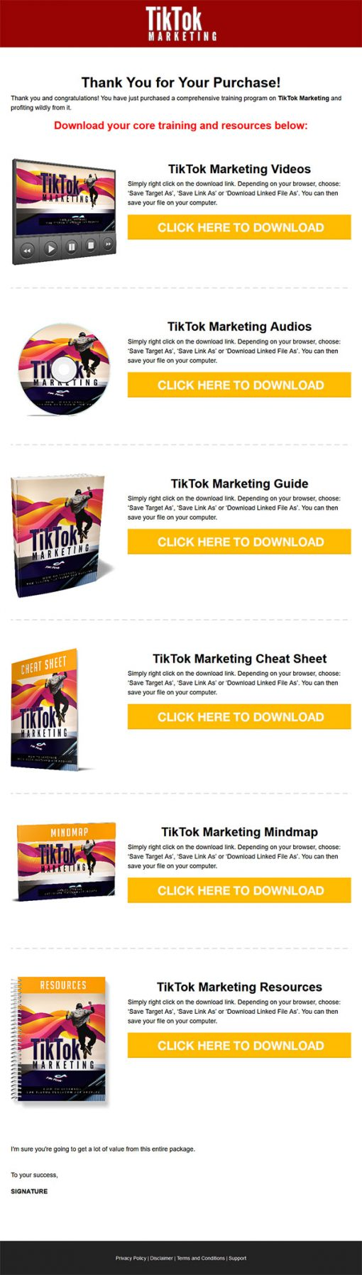 Tik Tok Marketing Ebook and Videos MRR