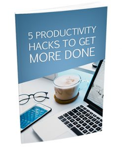 5 Productivity Hacks Report with Master Resale Rights