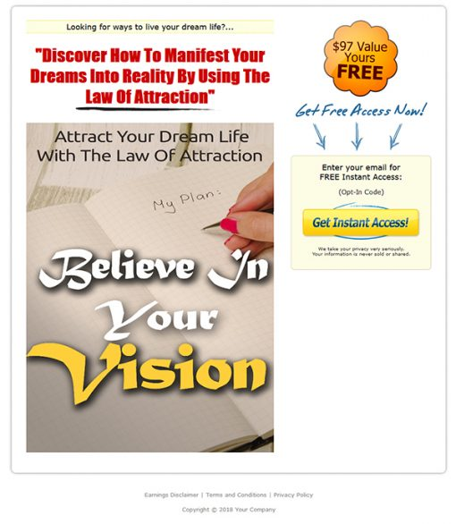 Believe Your Vision Report MRR